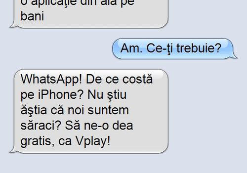 Tu ai plăti pentru a putea utiliza WhatsApp?