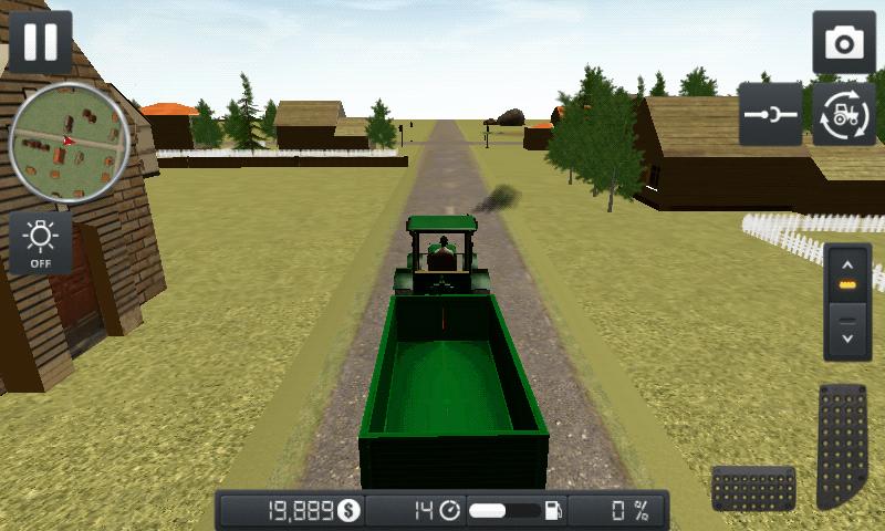 Farmer Sim 2015 - remorcă
