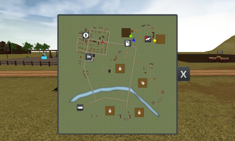 Farmer Sim 2015 - hartă