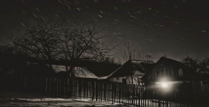 Satul e înfricoşător noaptea