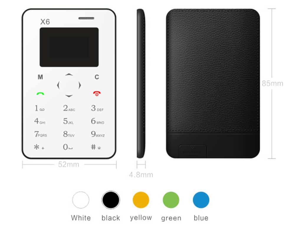 Telefoane mobile de mărimea cardurilor bancare